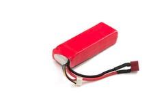 Litu polimeru baterii paczka na białym tle Obraz Royalty Free