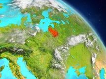 Lituania de la órbita stock de ilustración