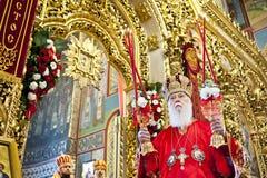 Liturgia alla cattedrale di St Michael Immagine Stock Libera da Diritti