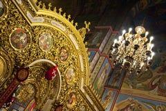 Liturgia alla cattedrale di St Michael Fotografia Stock