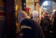 Liturgia alla cattedrale di St Michael Fotografia Stock Libera da Diritti