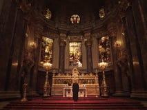 Liturgia a Berlin Cathedral immagini stock libere da diritti