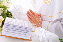 Liturgical prayers Royalty Free Stock Photos