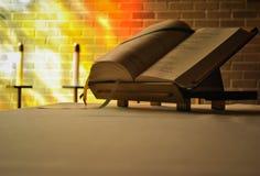 Liturgiczna książka Zdjęcia Royalty Free