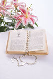 Liturgische Gebete stockbilder