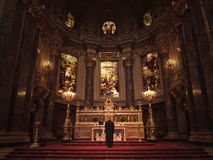 Liturgy at Berlin Cathedral Royalty Free Stock Images