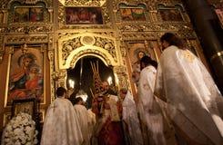 Liturgy st Nedelya church Stock Image