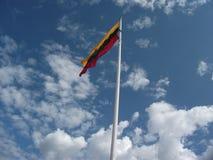 Litwa bandery zdjęcie royalty free
