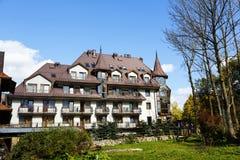 Litwor旅馆在扎科帕内,波兰 免版税库存照片