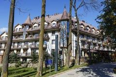 Litwor旅馆,扎科帕内,波兰 库存照片