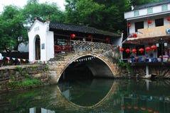 Liu Guqiao, старая деревня Стоковые Фотографии RF