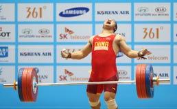 LIU Hao von China nimmt teil Stockfoto