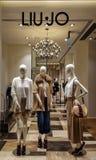 LIU JO sklep, Florencja, Włochy Obraz Stock