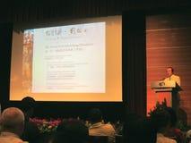 Liu Kang : Forum tropical de tête d'avant-garde Images libres de droits