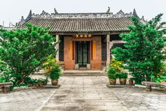 Liu Man Shek Tong Ancestral Hall, Hong Kong images stock