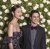 Liu Wen и Zac Posen Стоковая Фотография