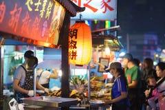 Liuhe nocy rynek w Kaohsiung Obraz Royalty Free
