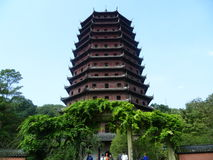 Liuhe Pagoda Stock Photo