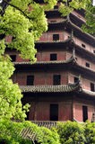 Liuhe (Six Harmonies) Pagoda Stock Images