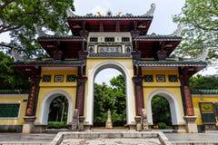 Liuhou公园,柳州,中国 库存图片