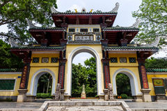 Liuhou Park,Liuzhou,China. Liuhou Park  is located at Liuzhou City, Guangxi Zhuang Autonomous Region . It is constructed in 1906 to commemorate the litterateur Stock Images