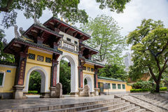 Liuhou Park,Liuzhou,China. Liuhou Park  is located at Liuzhou City, Guangxi Zhuang Autonomous Region . It is constructed in 1906 to commemorate the litterateur Royalty Free Stock Photography