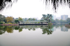 Liuhua lake park scenery Royalty Free Stock Images