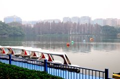 Liuhua lake park scenery Stock Photography