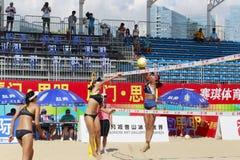 Liujing和linmeitong pk chenjiali和linyiqi 免版税库存图片