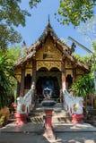 Lium del chedi de Wat, kumkam de Wiang, Chiangmai Imágenes de archivo libres de regalías
