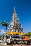 Lium del chedi de Wat, kumkam de Wiang, Chiangmai Imagen de archivo