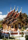 Lium del chedi de Wat, kumkam de Wiang, Chiangmai Fotos de archivo