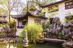 Liuyuan(Lingering) Garden-One of Chinese classical garden in Suzhou City Stock Photography