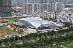Liuzhou swimming pool Royalty Free Stock Photos
