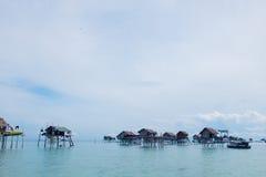Liv av Bajau Arkivfoto