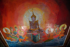 Liv av Buddha Royaltyfria Foton
