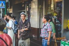Liv av kineskvarteret Fotografering för Bildbyråer