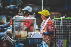 Liv av kineskvarteret Royaltyfria Foton