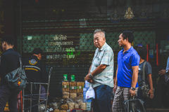 Liv av kineskvarteret Arkivfoton