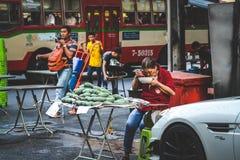 Liv av kineskvarteret Royaltyfri Bild