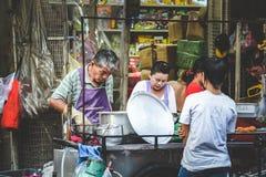 Liv av kineskvarteret Royaltyfri Foto
