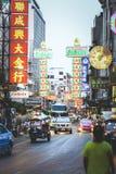 Liv av kineskvarteret Arkivbilder