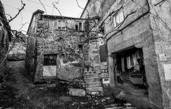 Liv i gamla Ermida - Portugal Royaltyfria Foton