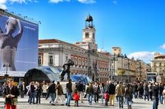 Liv i Madrid Royaltyfri Foto