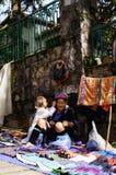 Liv i Sapa-Viet Nam Arkivfoton