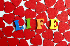 Liv och hjärta Fotografering för Bildbyråer
