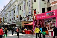 Liv och shopping, Xiamen, Kina Royaltyfri Fotografi