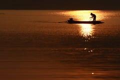 Liv på floden Royaltyfria Foton