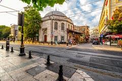 Liv på gator av Istanbul Arkivbild