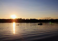 Liv på sjön Royaltyfri Fotografi